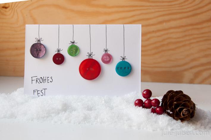 Weihnachtskarten Mit Knöpfen.Einträge In Der Kategorie Karten Jule Julsen